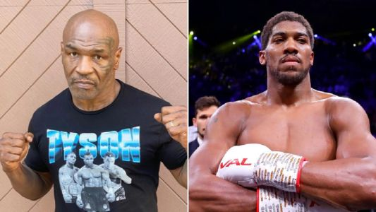 Mike Tyson says he is willing to fight Anthony Joshua after Roy Jones Jr