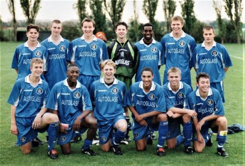 John Terry shares throwback pic of Chelsea 1996-97 youth side. from Countdown to JT's best man where did they end up?