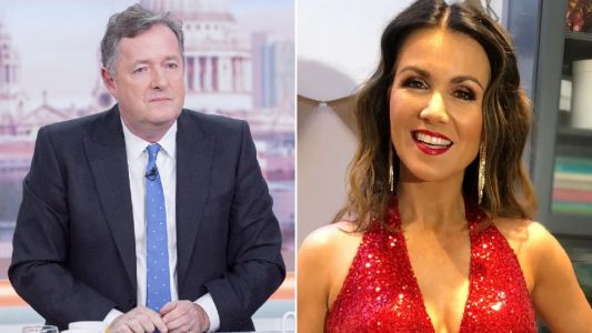 Piers Morgan starts getting FOMO after seeing Susanna Reid's NTAs outfit - as he boycotts awards