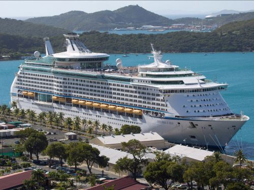 A Royal Caribbean cruise ship docked in New Jersey has been quarantined over fears of coronavirus exposure