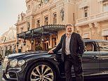 Behind the wheel of Bentley's new Flying Spur that costs a casino win