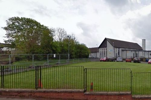 School playground tarnished with broken glass and even condoms