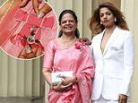 Rap star M.I.A.'s prestigious MBE award came attached to ribbon stitched by her own mother