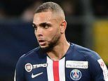 PSG defender Layvin Kurzawa has a new UK-based agent amid 'talks with Arsenal'