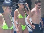 Sofia Richie strips down while on vacation with Scott Disick showing off her sexy body in bikini