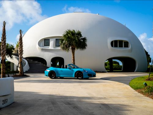 This $5 million dome-shaped home, known among locals as 'The Star Wars Home,' is hurricane-resistant and available to buy for the first time - take a look inside