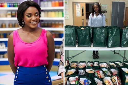 ADVERTORIAL: Big-hearted TV star Cynthia sends 4600 hungry families a food parcel every month