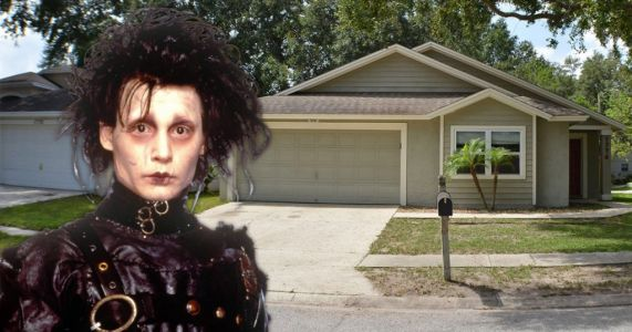 Edward Scissorhands' house is up for sale and includes original features from the movie