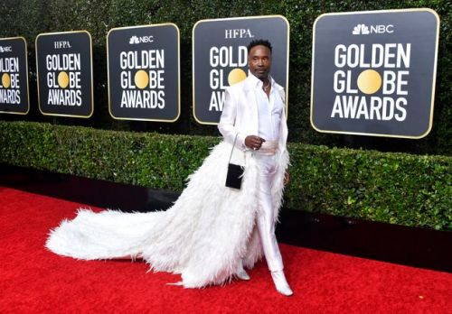 Golden Globes 2020: Billy Porter Definitely Doesn't Disappoint On The Red Carpet