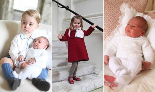See Kate Middleton's personal photos of Prince George, Princess Charlotte and Prince Louis