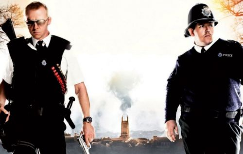 Simon Pegg reveals what a 'Hot Fuzz' sequel might have looked like