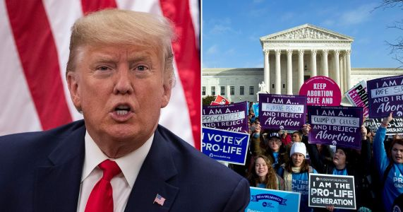Donald Trump will be first US president to speak at anti-abortion rally