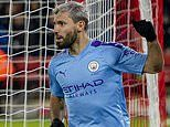 Sheffield United 0-1 Manchester City: Sergio Aguero comes off the bench to score winner for visitors