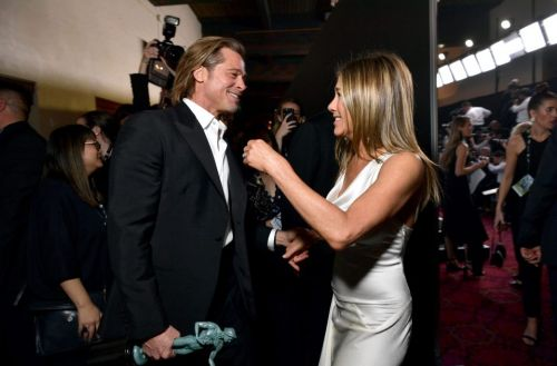 Brad Pitt and Jennifer Aniston sharing stylists as friends claim they'll soon be back together