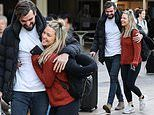 Sam Frost fawns over her boyfriend Dave Bashford after his cocaine bust