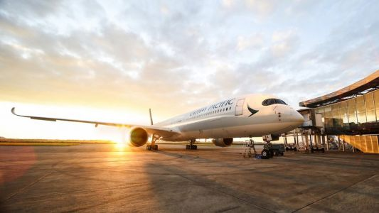 Cathay Pacific reports record half-year loss