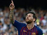 Barcelona 4-0 PSV: Messi nets stunning hat-trick as Umtiti is sent off in Champions League opener