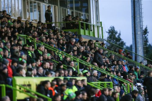 Forest Green vs Scunthorpe SUSPENDED after alleged racist incident at the New Lawn