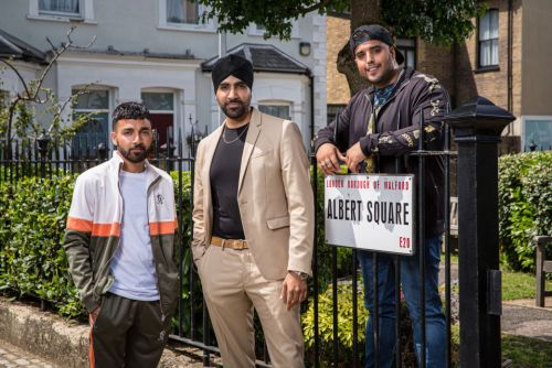 EastEnders casts new family as the three handsome Panesar brothers arrive in the Square to cause trouble