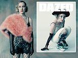 Saoirse Ronan is unrecognisable in high fashion shots as she graces the cover of DAZED