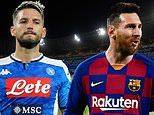 Napoli vs Barcelona - Champions League 2019/20: Live score and updates