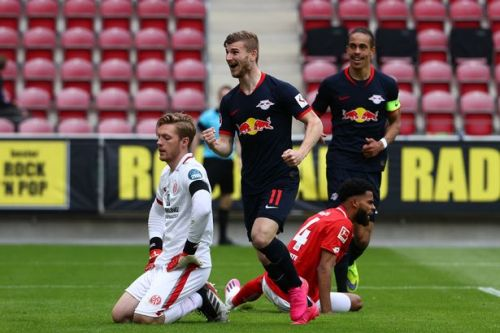 Liverpool target Timo Werner bags hat-trick as RB Leipzig thrash Mainz