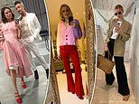 Fashion forward celebs try out 'Jazz legs' pose on Instagram