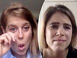 Princess Eugenie and Princess Beatrice become tearful during an emotional video call