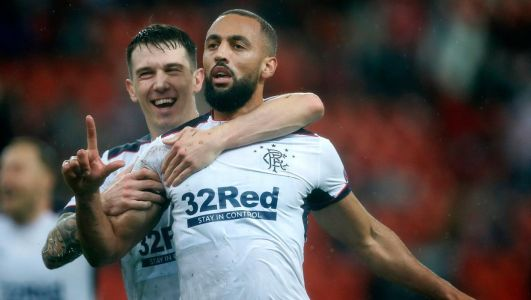Watch: Kemar Roofe scores screamer from half-way line as Rangers beat Standard Liege in Europa League