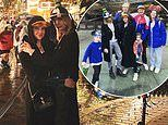 Cara Delevingne and girlfriend Ashley Benson pose in Pluto and Goofy hats at Disneyland
