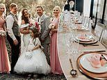 Thrifty bride, 39, reveals how she pulled off the ultimate budget wedding by turning to Kmart