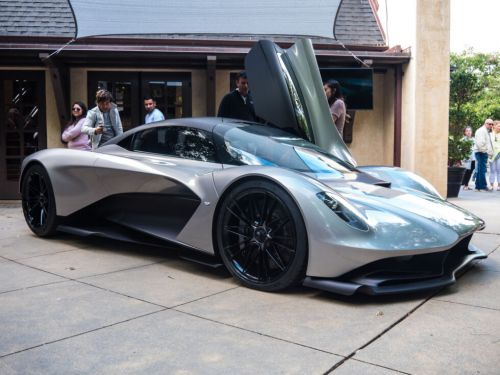 Aston Martin's next hypercar will be a hybrid, and here's its new V6