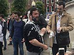 Now it's the turn of Ukip candidate Carl Benjamin to fall victim to milkshake attack