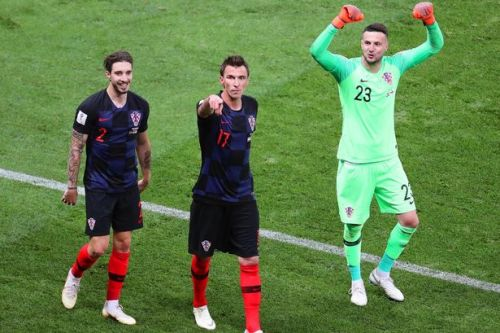Sime Vrsaljko attacks England's 'long ball' tactics as Croatia celebrate place in World Cup 2018 Final