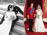 Harry and Meghan show off their personalities in their relaxed wedding photographs
