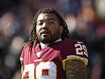 Washington Football Team running back Derrius Guice arrested on domestic violence charges