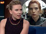 Scarlett Johansson didn't know the Black Widow trailer was dropping this week