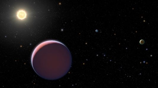 Cotton-candy worlds may be steps on planetary evolution ladder