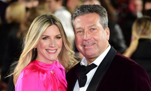 Lisa Faulkner's bold wedding anniversary dress leaves fans amazed