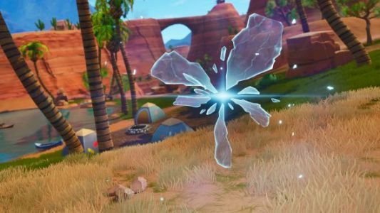 Fortnite season 5 week 1 challenges - search floating Lightning Bolts, Risky Reels treasure map, Snobby Shores chests