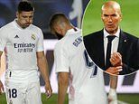 Real Madrid stars 'baffled by Zinedine Zidane's tinkering' after playing 4-4-2 against Valladolid