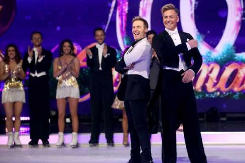 Dancing on Ice's Ian 'H' Watkins claims the BBC wouldn't let him be in a same-sex couple