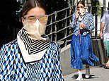 Olivia Palermo continues self-isolating in style as she picks up a cool beverage