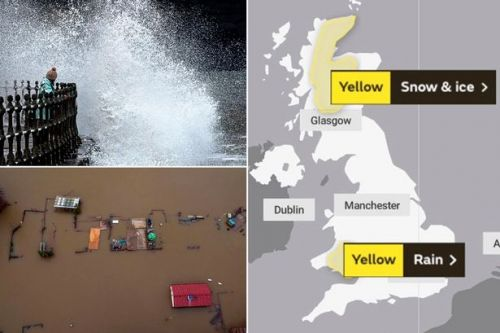 UK weather: Britain hit by more flood chaos with no end in sight for heavy rain