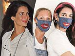 Amal Clooney's older sister is selling fashion-forward leopard print and denim face masks for £25