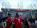 Manchester United are in discussions over the major redevelopment of Old Trafford