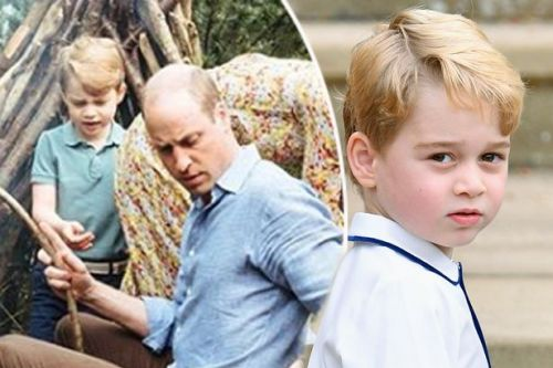 Prince George sweetly heard talking to dad Prince William as he compliments mum Kate Middleton's garden at Chelsea Flower Show