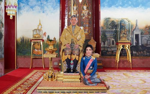 Thai king strips 34-year-old royal consort of all titles for 'disloyalty' and 'ambition'