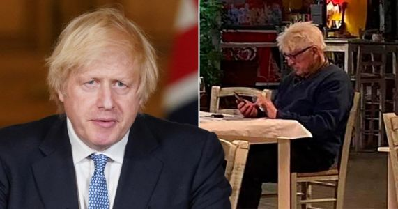 Boris Johnson won't comment on father's lockdown trip to Greece