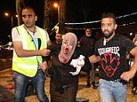 Jerusalem sees second night of clashes as Israeli security forces block Muslim pilgrims at mosque